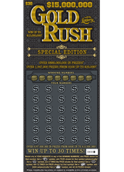 1415-$30 15K Gold Rush Special Edition